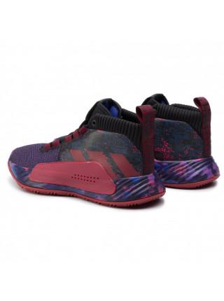 Кроссовки мужские  Adidas Dame 4 SCARLE/HIRERE/CBLACK