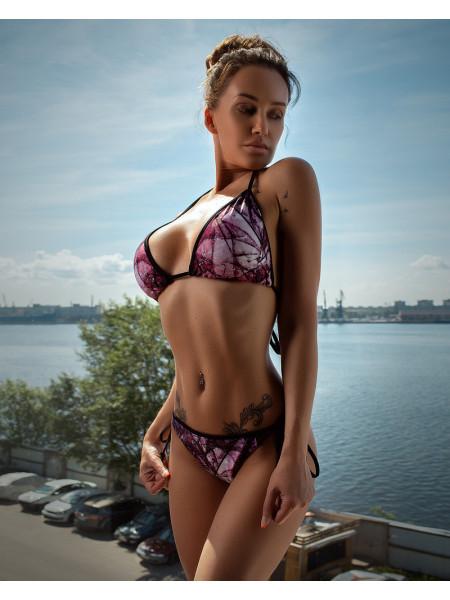 """Раздельный купальник Bona Fide: Mini Bikini """"I'm Not Afraid"""""""