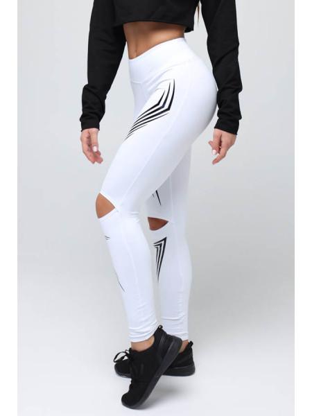 Лосины женские Flash White