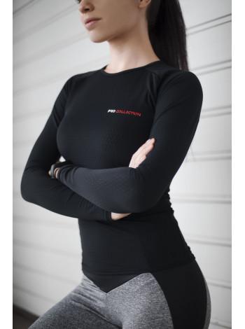 Рашгард женский с длинным рукавом PRO COLLECTION