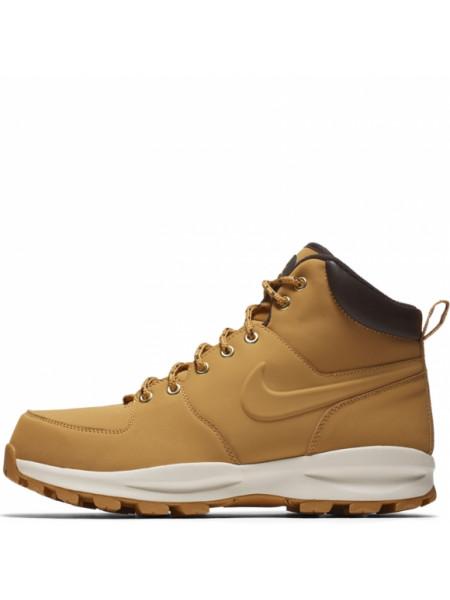 Ботинки  мужские Nike manoa leather рыжие