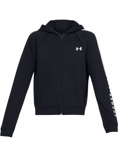 Толстовка Under Armour COTTON FZ HOODIE Black