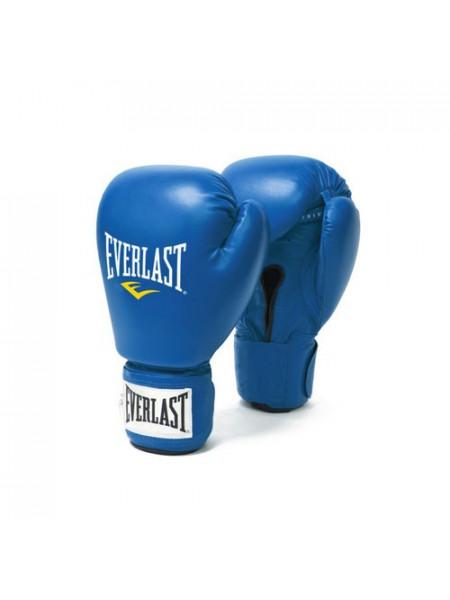 Перчатки для любительского бокса Amateur Competition PU  синие