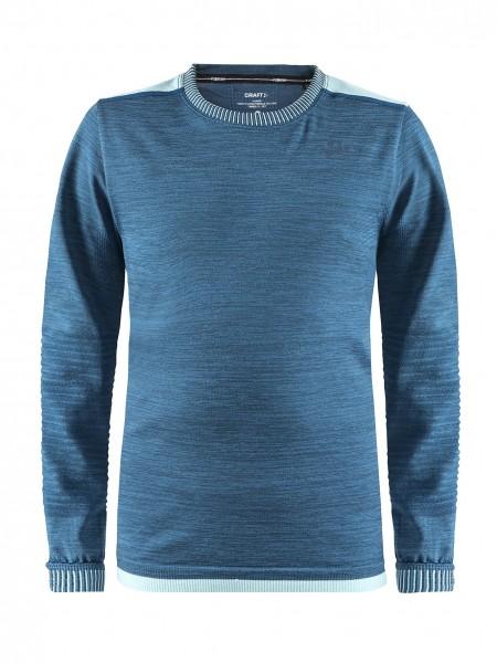 Рубашка детская CRAFT Fuseknit Comfort синяя