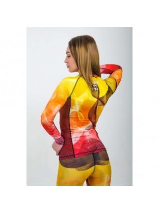 Рашгард женский с длинным рукавом Orso Classic FireFox