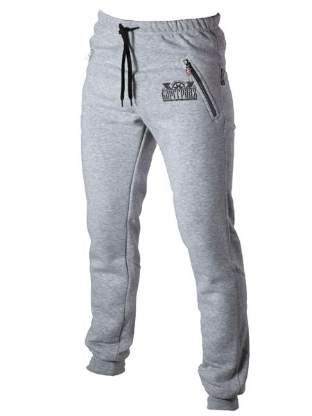 Спорт-брюки Варгградъ серый меланж (б/н)