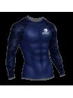 Рашгард мужской Orso Champion Power с длинным рукавом  (синий)
