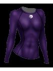 Рашгард женский с длинным рукавом Orso Regular