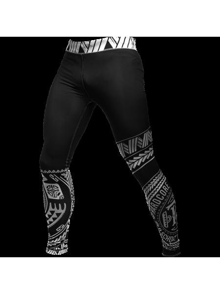 Компрессионные штаны Hardcore Training Ta Moko Black